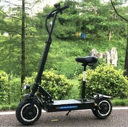 Electric Scooter Adult 60V 3200W Foldable Bicycle 32Ah Batte