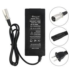 tangsfire 36V Charger 42V 2A XLR E-Scooter Male Connector Mi