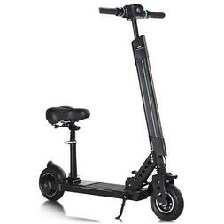 Goplus Electric Scooter Foldable Adjustable Kick Scooter wit