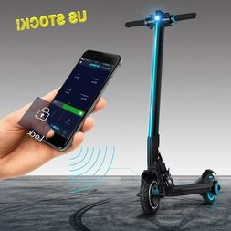 Electric scooter L8 Koowheel Bluetooth connectivity 18.7MPH