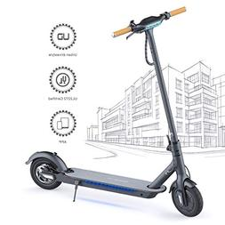 "TOMOLOO Electric Scooter for Adults, 8.5"" Air Filled Tires L"