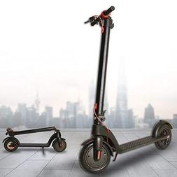 Electric Scooters 18mph Range of Riding on 8.5'' Run Fla