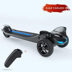TOMOLOO Electric Skateboard Three Wheels Electronic Skate Sc