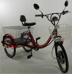 Electric tricycle scooter for adults, motorized trikes