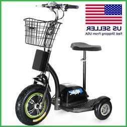 Electric Trike 48v 500w MotoTec Three Wheel Electric Scooter