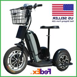 Electric Trike Scooter 48v 800w MotoTec Bike For Adult With