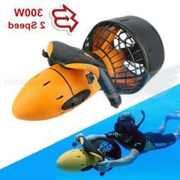 Electric Underwater Scooter Dual Speed Propeller Equipment F