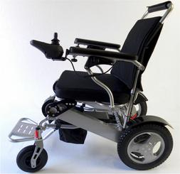 Electric Wheelchair, Portable Motorized Foldable Power Wheel