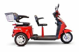 EW-66 Electric Motor Scooter Two Seater 700w 15mph 48v 35mpc