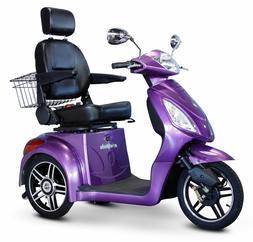 E-Wheels EW-36 3-Wheel 500W High Power Electric Mobility Sco