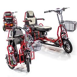 EWheels EW-02 Folding Two Seater Electric Mobility Scooter +