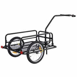 folding bike cargo trailer cart