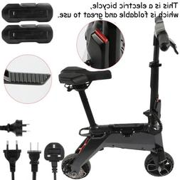 Folding electric bicycle adult mini small car electric scoot