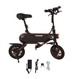 Homgrace Folding Electric Bicycle E-Bike, Max Speed 30km/h F