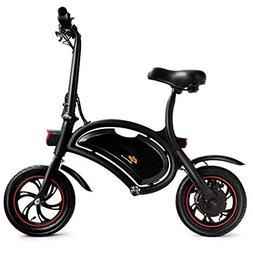 Goplus Folding Electric Bike Lightweight E-Bike Mini Electri