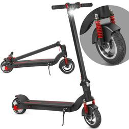 "XPRIT Folding Electric Kick Scooter 8"" Front Wheel"