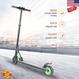 folding electric scooter 250w aluminum portable e
