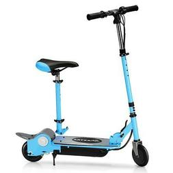 folding electric scooters with seat for kids