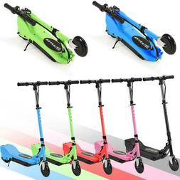 MAXTRA Folding Kids Teens Electric Scooter 3 Adjustable Heig