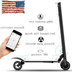 Folding Teens Adults Electric City Scooter 200W Foldable Kic