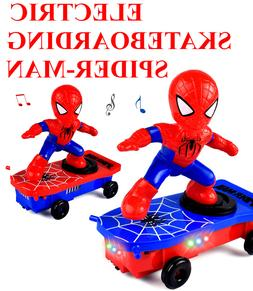 <font><b>Electric</b></font> Spider <font><b>Stunt</b></font