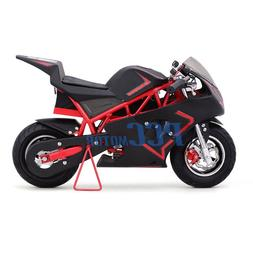 FREE SHIPPING RED 500 WATT KID ELECTRIC MINI BIKE MOTORCYCLE
