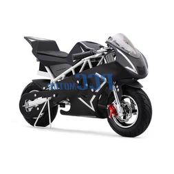 FREE SHIPPING WHITE 500 WATT KID ELECTRIC MINI BIKE MOTORCYC