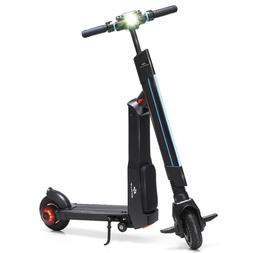 Goplus Led Bluetooth Folding Electric Scooter With Removable