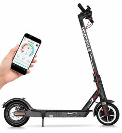 "Swagtron High Speed Electric Scooter with 8.5"" Cushioned Tir"