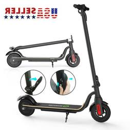 """High Speed Folding Electric Scooter 8"""" Cushioned Tires 250W"""