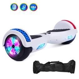 """Electric Hoverboard 6.5"""" Two-Wheel Self Balancing LED Scoote"""