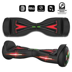 VEEKO Hoverboard Bluetooth and LED,Two-Wheel Self Balancing