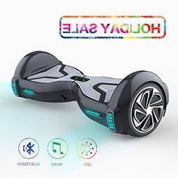 "TOMOLOO Hoverboard for Kids and Adult, 6.5"" Two Wheels App C"