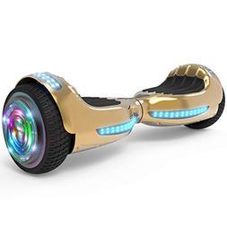 "Hoverboard UL 2272 Certified Flash Wheel 6.5"" Bluetooth Spea"