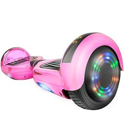 "WorryFree Gadgets Hoverboard UL2272 Certified 6.5"" Flash Whe"
