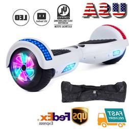 "Hoverheart UL2272 6.5"" Chrome Hoverboard Electric Self Scoot"