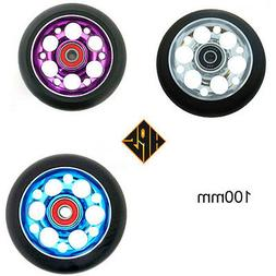 HPS 2 pro kick stunt scooter metal core wheels drilled 100mm