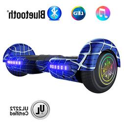 """NHT 6.5"""" inch Aurora Hoverboard Self Balancing Scooter with"""