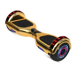 "WorryFree Gadgets 6.5"" inch Chrome Hoverboard Electric Smart"