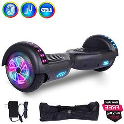 "6.5"" Inch Hoverboard Self Balancing Scooter Colorful LED Whe"