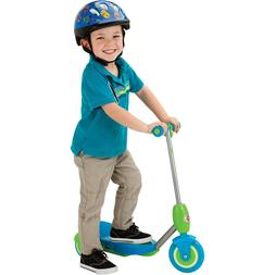 Razor Jr. Lil E Kids' Electric Scooter Green/ Blue- Ages 3+