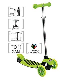 Voyage Sports Kick Scooter for Kids, 3 Wheel Adjustable Heig