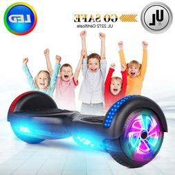 For Kids 6.5 inch Colorful LED Wheels Hoverboard Self Balanc