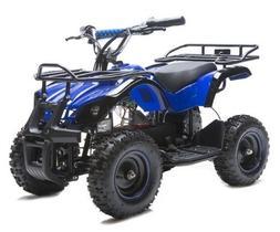 Rosso Motors Kids ATV Kids Quad 4 Wheeler Ride On Utility wi