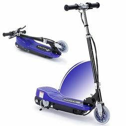 kids electric scooter 2 wheels folding ride