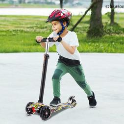 Kids Scooter for Age 3-8 Kick Scooters Girls Boys Adjustable
