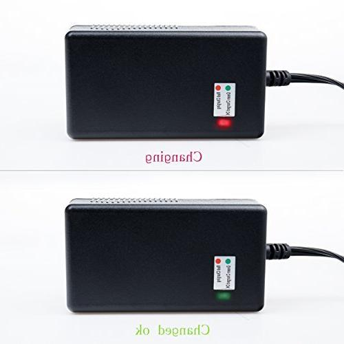 Antoble 1.5A Scooter Charger for Razor E200 E300 E125 E150 E500 MX350, Pocket Mod, Mod, and