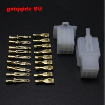 10 pairs 9 pin automotive 2 8mm