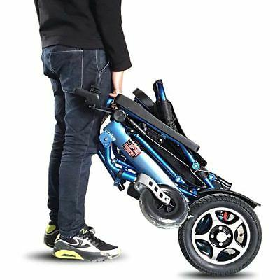 110/220V Portable Mobility Old Wheelchair