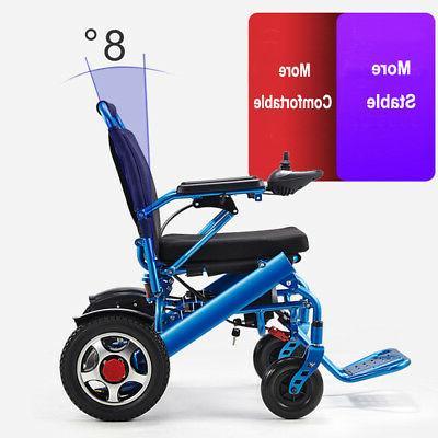 110/220V Portable Folding Wheelchair